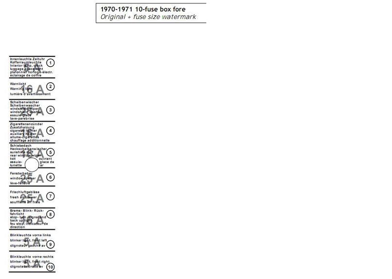 Zekeringkasten 911  U0026 39 70-73