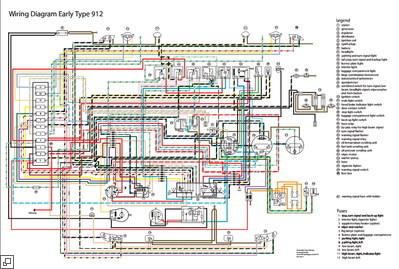 wiring diagram 1968 porsche 912 1967 porsche 912 wiring 1969 Porsche 912 Cooling Fan 1967 porsche 912 wiring diagram