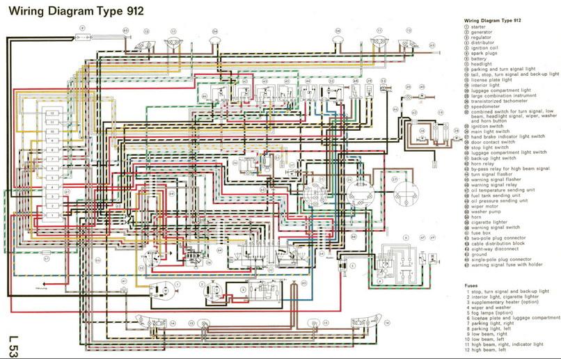 Electrisch Schema 912 Lwb Uk - Elektrische Installatie - Techniek
