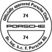 Officially approved Porsche Club 74