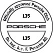 Officially approved Porsche Club 135
