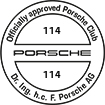 Officially approved Porsche Club 114