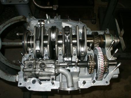 De Viercilinder 911 Motor Geschiedenis En Ontwikkeling